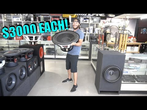 2 FOOT SUBWOOFER FOR MY TRUCK?!