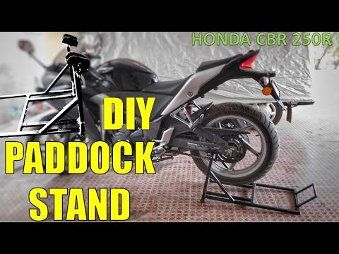 Paddock Stand Modification Doovi