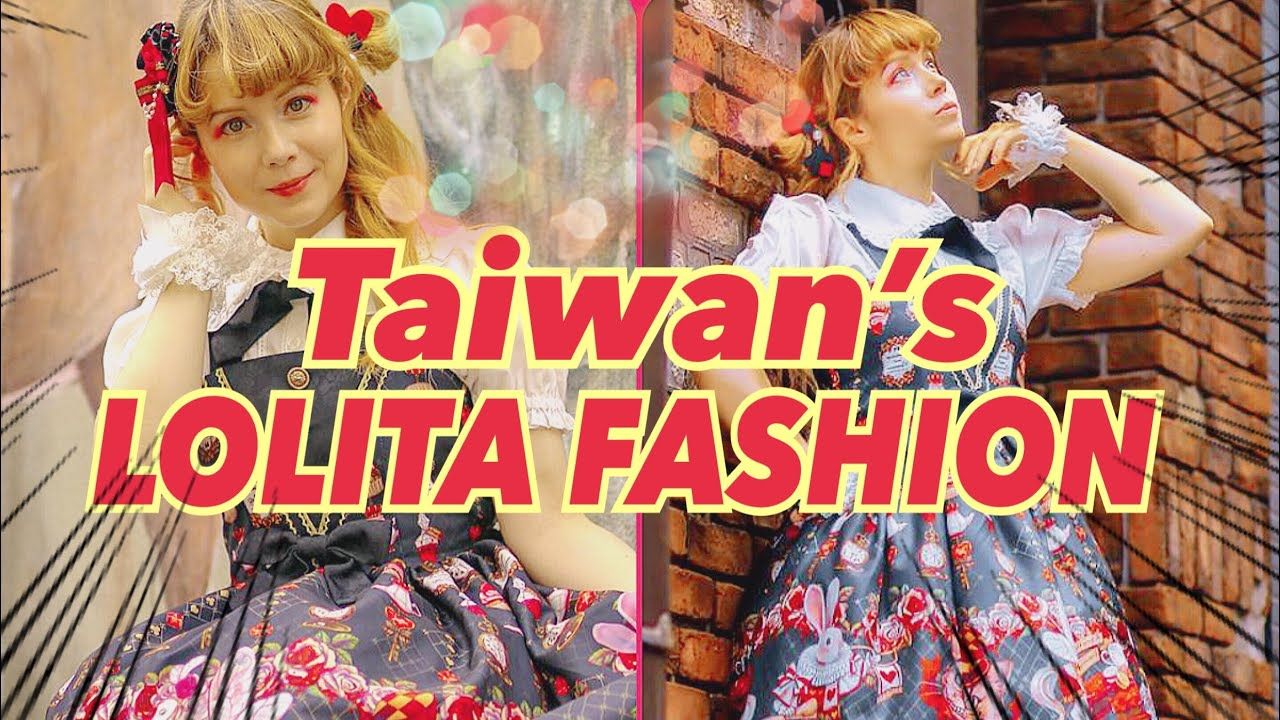 b1a3eedaf8f40 Unboxing Taiwan's Lolita Fashion dresses and tights by Little Rose Planet