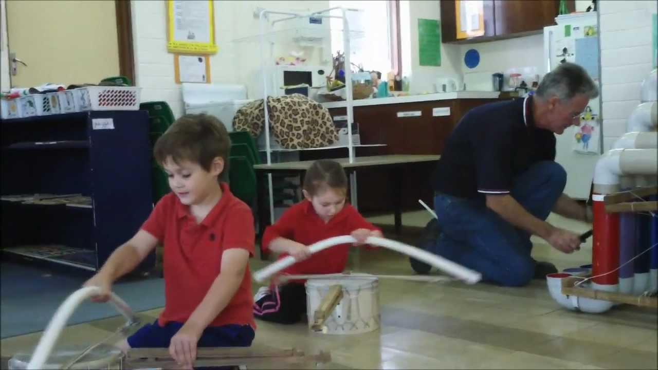 Children, free play, & 60 homemade musical instruments! - Child's Play Music