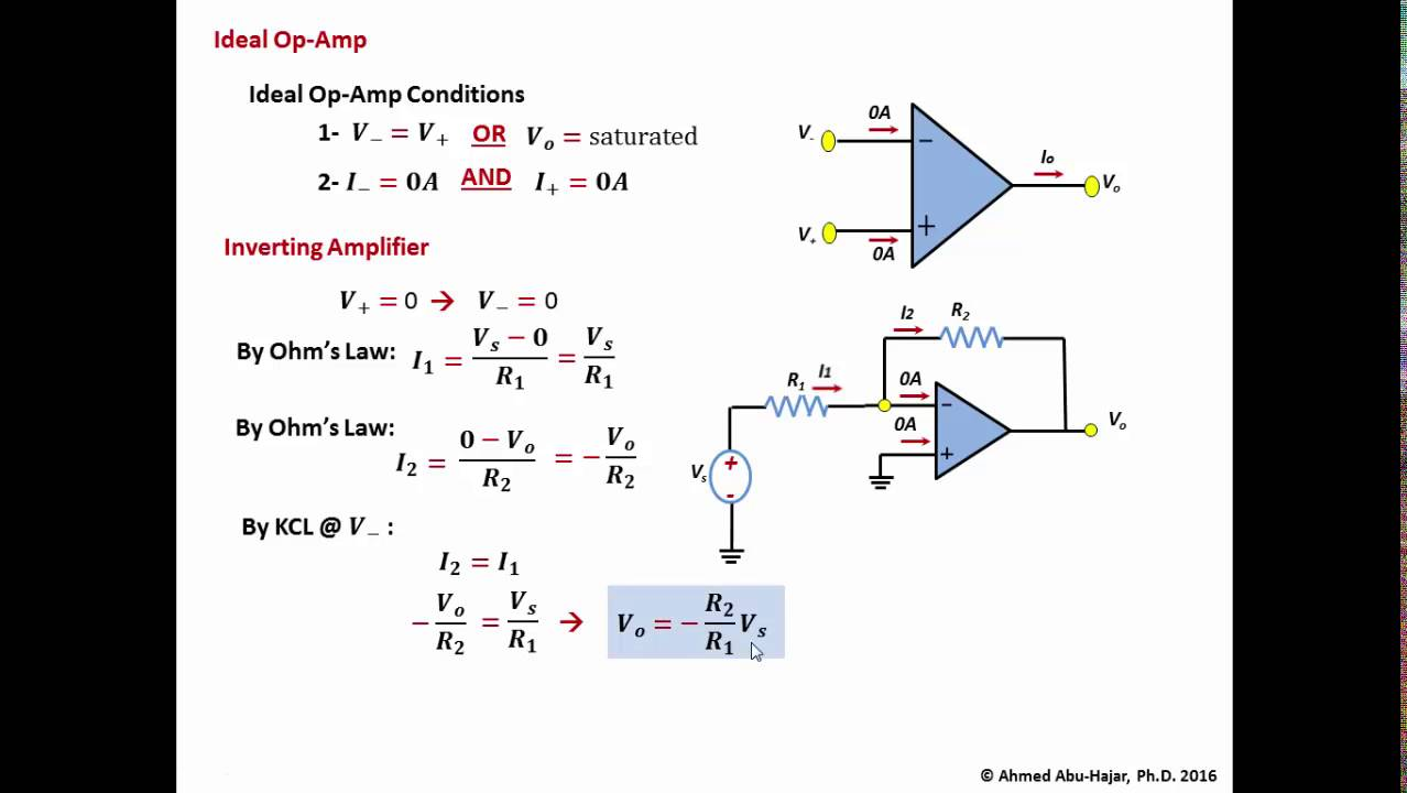 Summing Amplifier The Operational Amplifier Voltage Adder