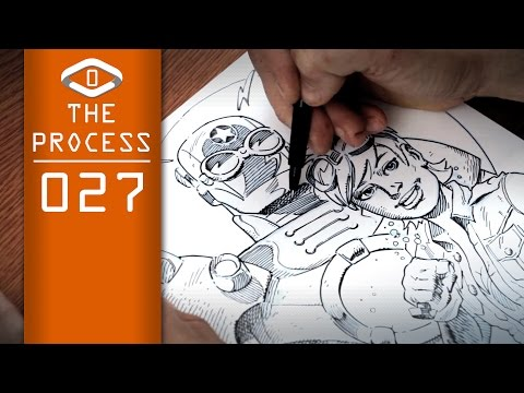 THE PROCESS: Ink Style #05 The Moebius