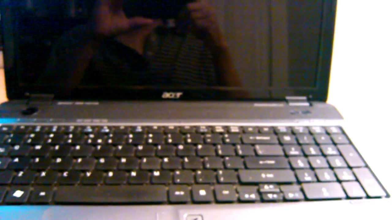 Acer Aspire 5740 Restoration Back To Factory Default Settings Keyboard 4752 4752g 4752z 4752zg