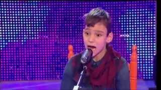 "Menuda Noche 2014/15: Adrián interpreta ""Lágirmas Negras"""