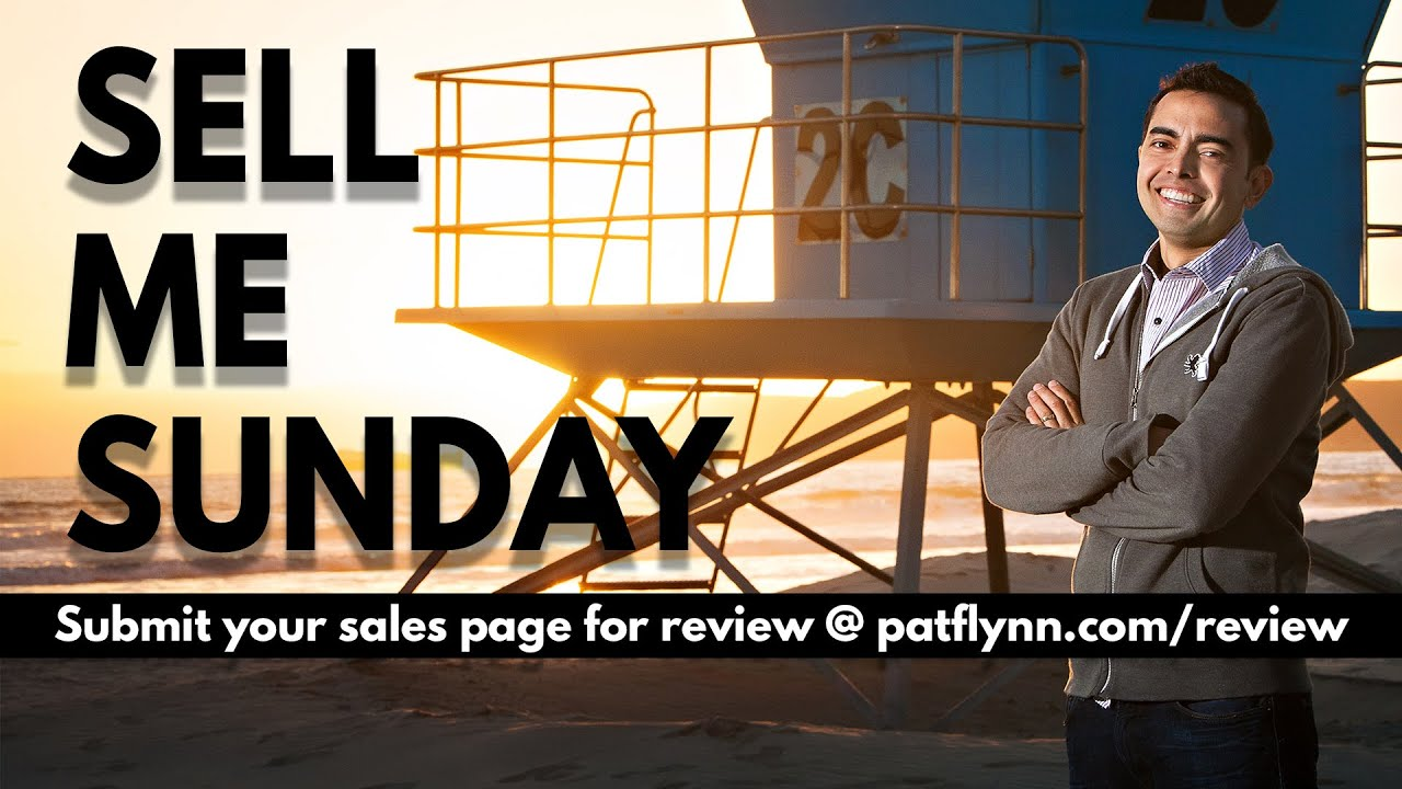 Sell Me Sunday with Pat Flynn - The Income Stream Day 73