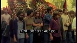 Похорону убитого  коммуниста Вальтер Россиi - Рим  1977