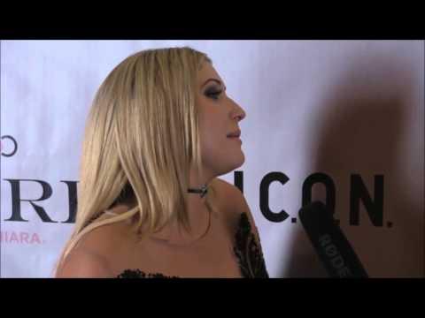 Taylor-Ann Hasselhoff Exclusive ON Entertainment #CureRocks