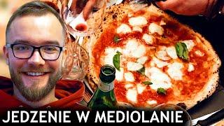 MEDIOLAN: JEDZENIE w MEDIOLANIE - najlepsza pizza włoska  + JEDZENIE w BERGAMO   GASTRO VLOG #284