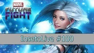 Análise de contas 14 - #InsetoLive 100 (Especial) - Marvel Future Fight