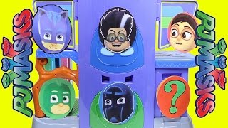 PJ Masks Headquarters Game with Trolls, Paw Patrol, Slime, Spin the Wheel