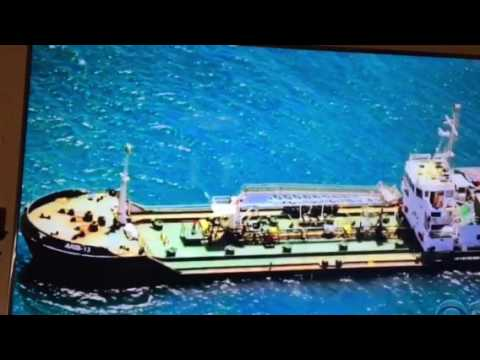 Captured Oil tanker by Somalian pirates with SL crew got released by SOML NAVY