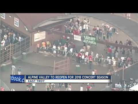 Alpine Valley Music Theater to reopen in 2018
