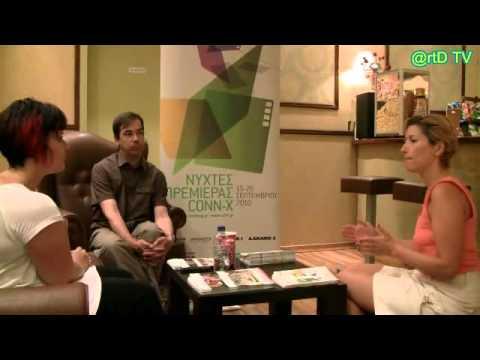 OLIVIER SMOLDERS INTERVIEW BY NIKI PRASSA 20 9 2010 16th ATHENS INTERNATIONAL FILM FESTIVAL