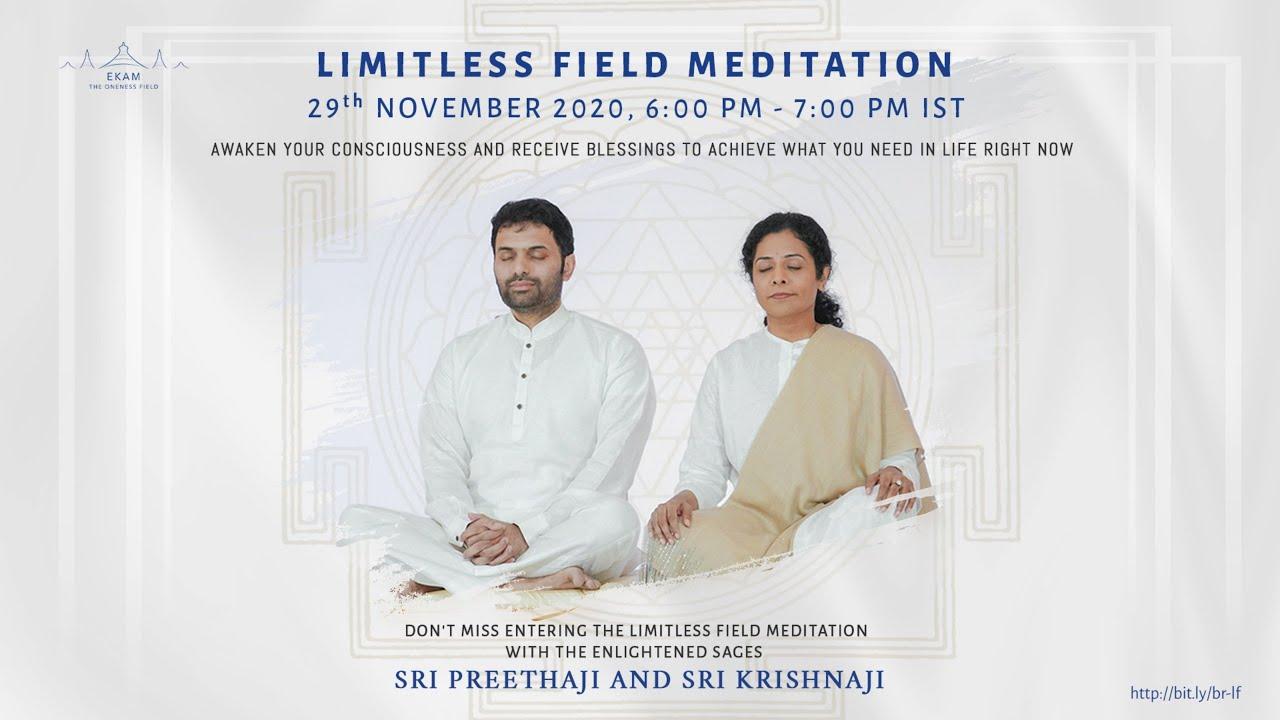 Limitless Field Meditation LIVE | Tamil (தமிழ்) +91 8106909108, +91 7021587530