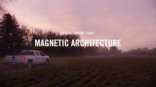 Leatherman FREE: Magnetic Architecture