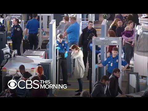 Government shutdown: TSA says sick calls up more than 137 percent compared to 2018