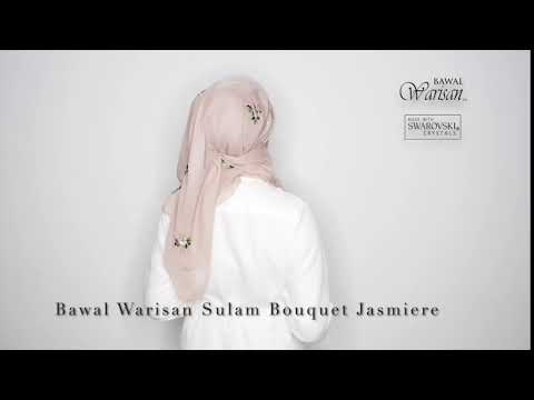 Bawal Warisan Sulam Bouquet Jasmiere