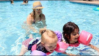 TODDLER'S FIRST SWIM LESSON