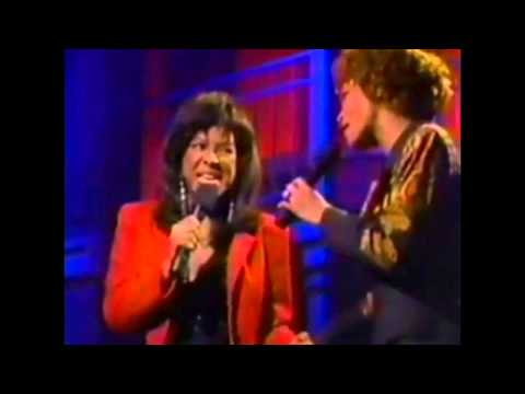 #nowwatching Whitney Houston & Natalie Cole LIVE - Say A Little Prayer