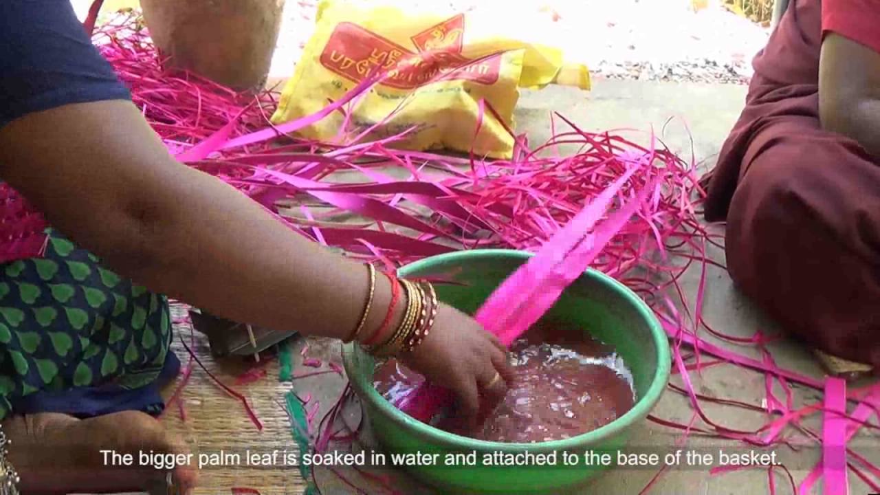 Palm Leaf Craft Vellore Youtube