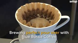 Brewing Perfect Pour Over With Blue Bottle Coffee Youtube