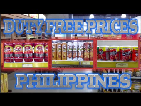 Philippines Duty Free Prices at SM Mall Cebu City