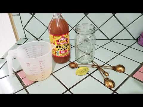 How to Loose weight with Braggs  organic Apple cider vinegar. Loose 5 pounds in a week.