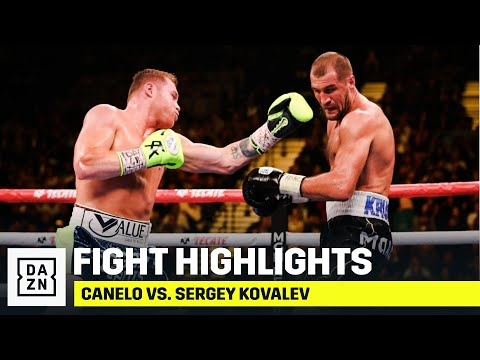 Clint August - Boxing Saturday Night. HIGHLIGHTS | Canelo vs. Sergey Kovalev