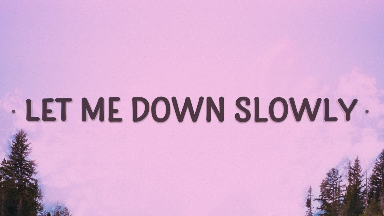 Alec Benjamin - Let Me Down Slowly (Lyrics) | This night is cold in the kingdom