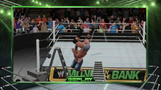 WWE 2K17: Epic Moment #3- Attitude Adjustment Through A Ladder