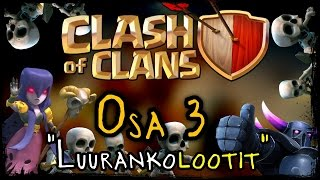 Clash of Clans - Osa 3 - Luurankolootit! [P.E.K.K.A + Witch!]