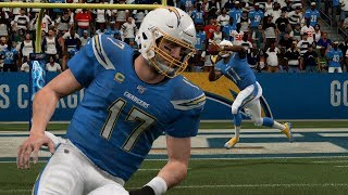 NFL Monday Night Football 11/18 Los Angeles Chargers vs Kansas City Chiefs Full Game Week 11 Madden