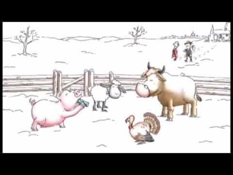 Red Bull   Farmyard Animals   Christmas 2014   YouTube