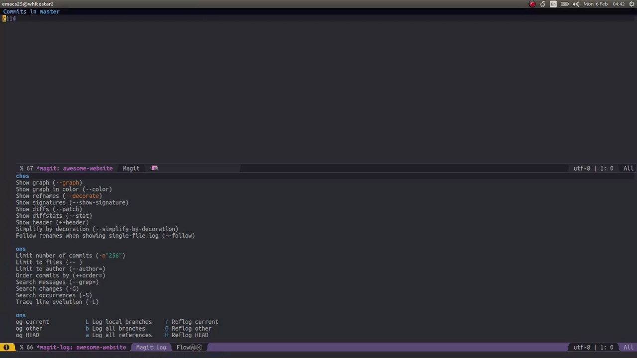 Spacemacs: From new Git project to Github repository with Magit and Magithub