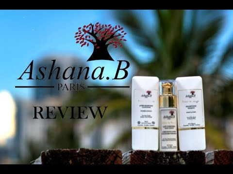 Ashana.B Paris Review Vegan & Organic HairCare & Body Lotion   JackieEFFEX