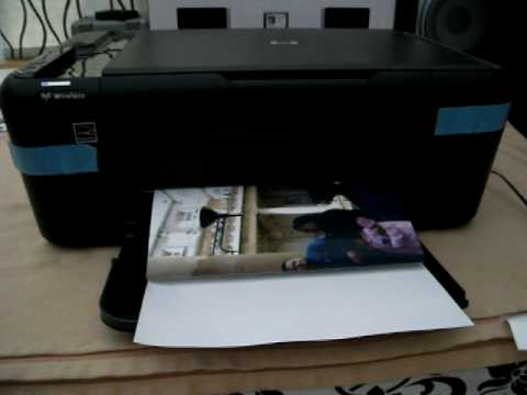 Hp Deskjet F4580 Wireless All In One Printer Scanner