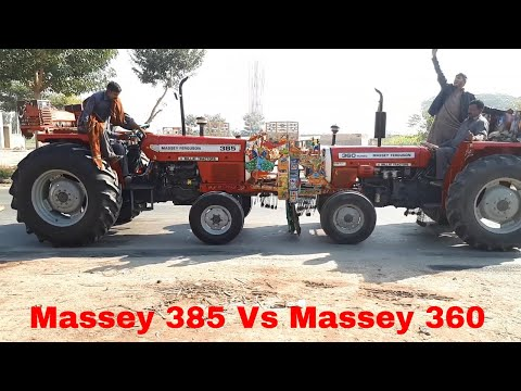 Massey 385 Vs Massey 360 Tractor Tochan | Massey 365 Win Tochan Competition