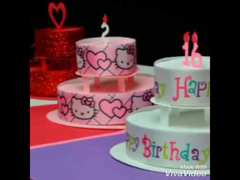 paper cake for explosion box///paper cake tutorial //how to make birthday or anniversary cake