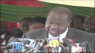 Education CS Fred Matiangi releases 2015 KCSE Results  mp4