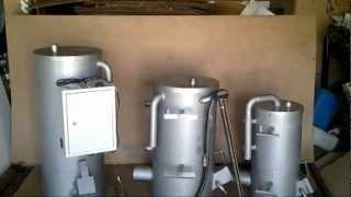 видео Отопительный котел на отработанном масле