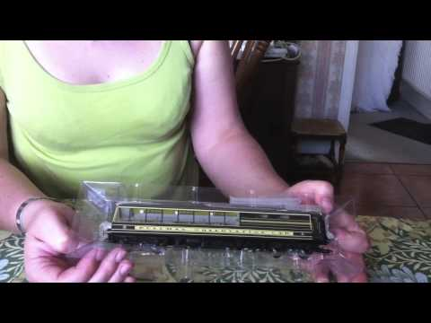 Opening and review of the Hornby Pullman Observation Car