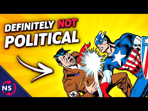 Captain America Punching Nazis: Why Comics Were ALWAYS Political