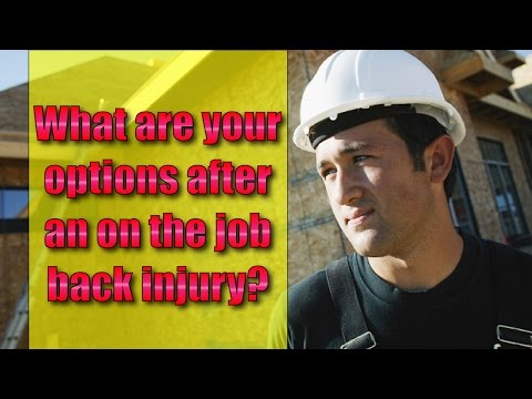 Workers' Compensation: Herniated Disc Injury at work