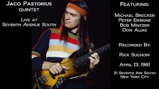 Jaco Pastorius - Seventh Avenue Solo (unreleased) 1981