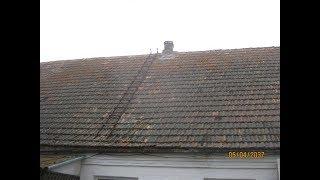 видео Как правильно перекрыть крышу с шифера на профнастил?