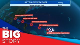 PAGASA: Typhoon Ompong may intensify into a super typhoon