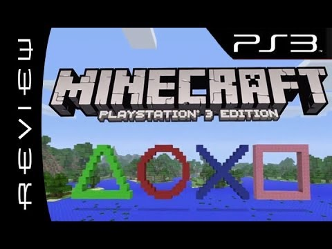 Minecraft Playstation Edition Review