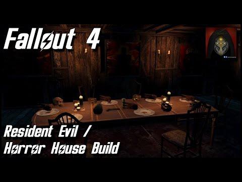 Fallout 4 - Resident Evil/Horror House - Settlement Build