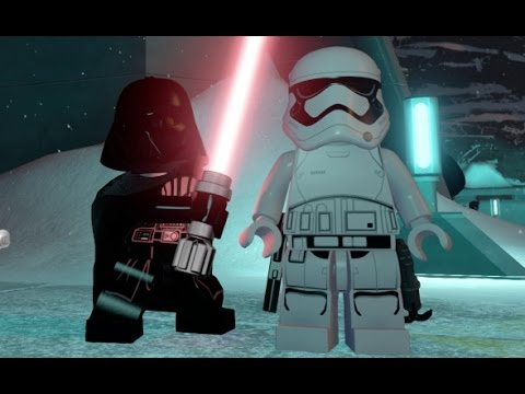 LEGO Star Wars: The Force Awakens - Starkiller Base Free Roam Gameplay