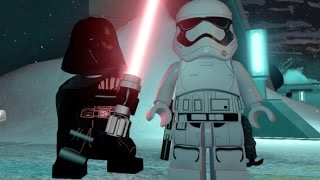 LEGO Star Wars: The Force Awakens - Starkiller Base Free Roam Gameplay